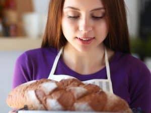 Gelungenes selbstgebackenes Brot